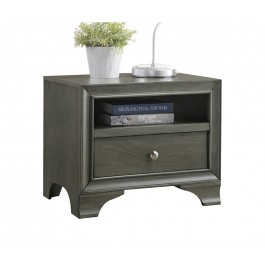 contemporary nightstand