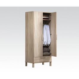 Wardrobe light oak