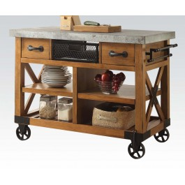 WALNUT KITCHEN CART III