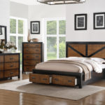 Classic bedroom brown