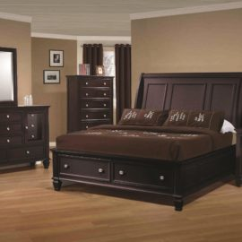 Sandy Beach Trundle bed modern simple design