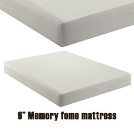 "6"" memory foam mattress"