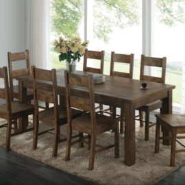 Coleman rustic dining set