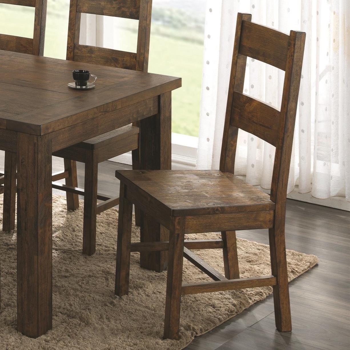 Coleman 7pc Rustic Dining Set Paradise Furniture Store