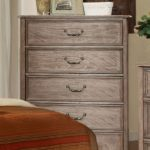 natural wood rustic bed chest
