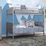 twin on twin metal bunk bed
