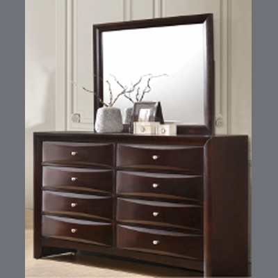 Emily Dresser Mirror Paradise Furniture Store