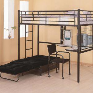 Bunk bed workstation