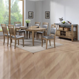 2441 Grey rustic dining table