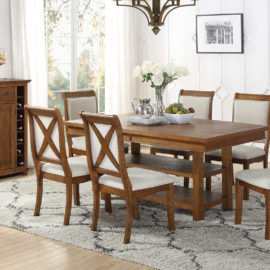 standard walnut dining table