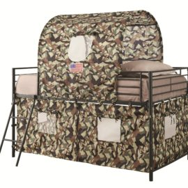 Bunk bed tent twin