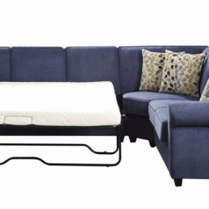 blue sleeper sectional