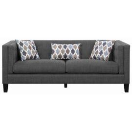 sofa track arm grey