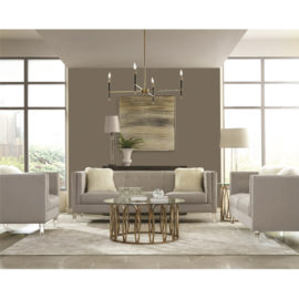 Hemet Modern living room with Acrylic Feet