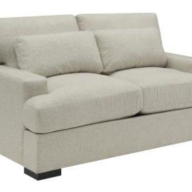 classic straight arm sofa set