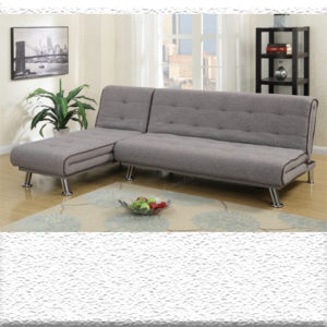 Grey Sofa chaise sleeper