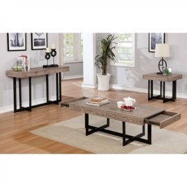 Contemporary Coffee table, End table sofa Table