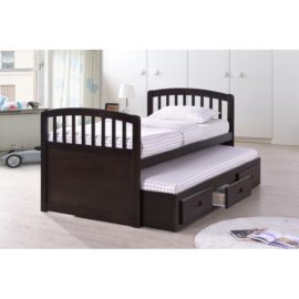 capitan trundle twin drawer bed
