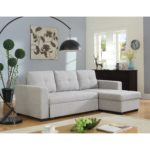 Beige Sleeper Sectional