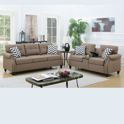 Paradise Two Piece Sofa Set