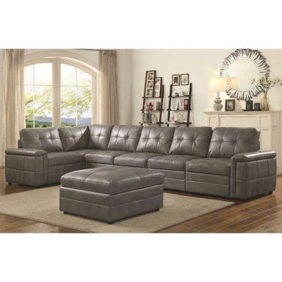 Grey modular sectional