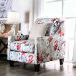 Floral Accent Chair