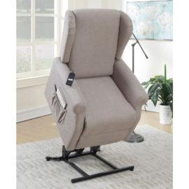 Slim design recliner lifter chair
