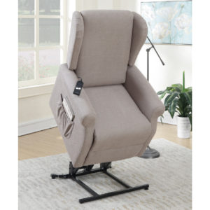 Slim design recliner lifter chair