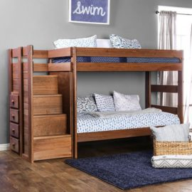 USA Hand made wood bunk bed
