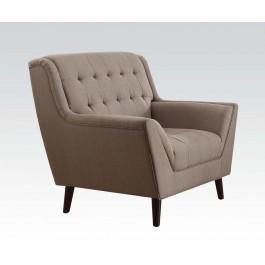 Light brown linen sofa set