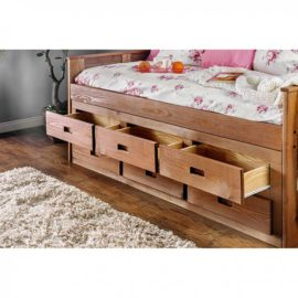 Natural Wood Captain Day Bed