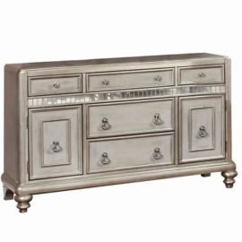 silver traditional dining server