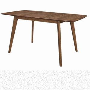 Alfredo Rectangular Dining Table Natural Walnut