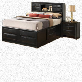Briana captain bed storage