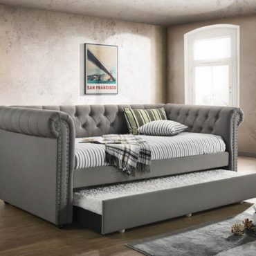 Tufted Upholstered daybed