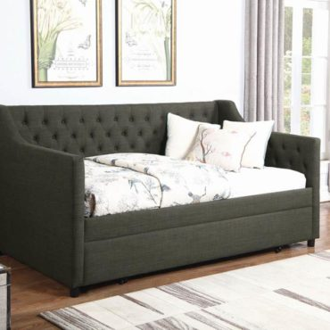 Charcoal Daybed Trundle
