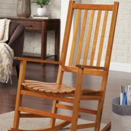 Light Brown Rocking Chair