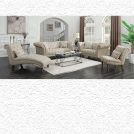 Josephine Tufted Sofa Beige