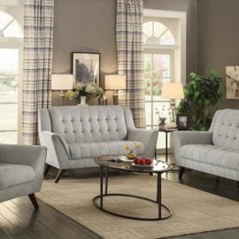 Modern Grey Accent chair