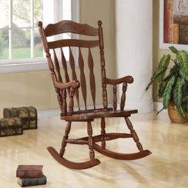 Brown Rocking Chair