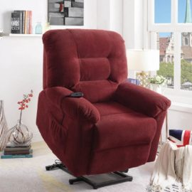 Red lifter Recliner