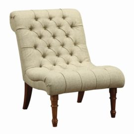 Tan Accent chair