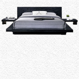 Christie Low Profile Black Bed Frame