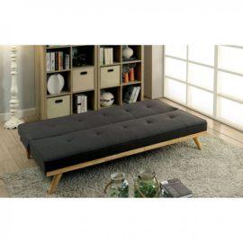 wood base futon sleeper sofa