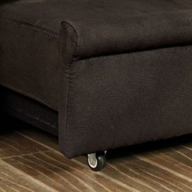 Queen cupholder sleeper sofa