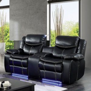 Leather power recliner Theater
