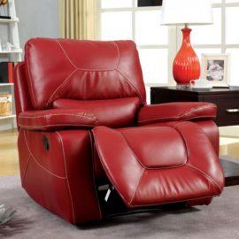 Newburg Red Recliner Chair
