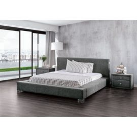 Canaves Platform Bed Grey