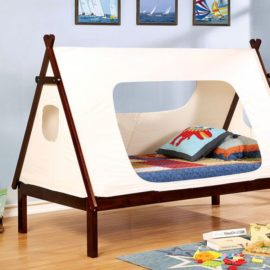 Debra tent white bed
