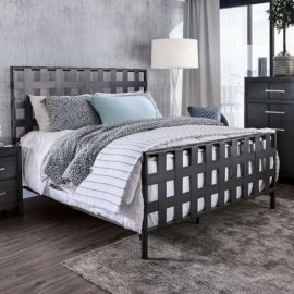 Earlgate Metal Lattice Style Bed